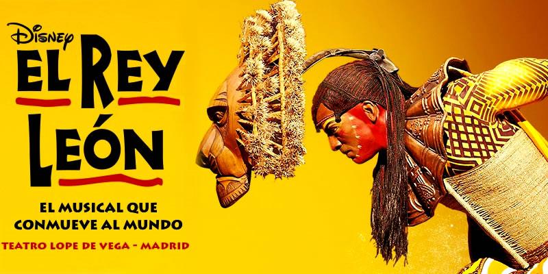 Comprar Entradas para el musical de teatro El Rey León