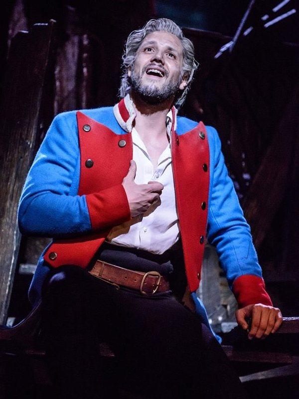 Daniel Diges como Jean Valjean en Los Miserables